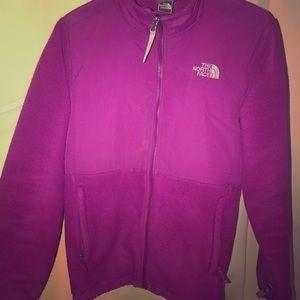 Purple north face fleece